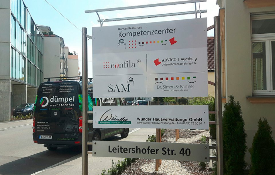 Aufstellersysteme Augsburg