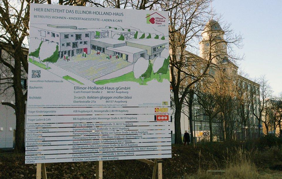 Bautafeln Augsburg
