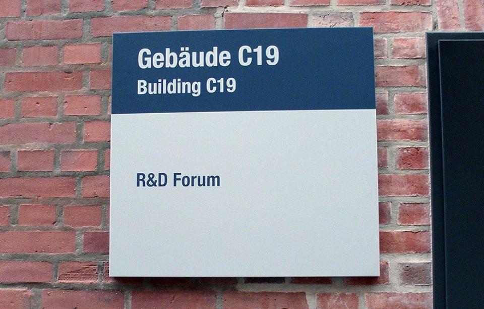 Firmenschilder Augsburg